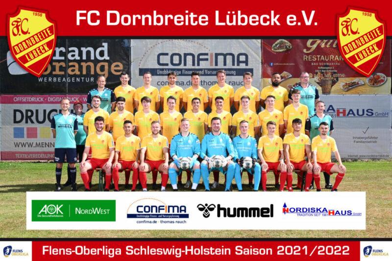 Fussball I Mannschafts- und Portraitshooting I Saison 2021/2022 I Fußball-Club-Dornbreite Lübeck e.V. I 19.06.2021